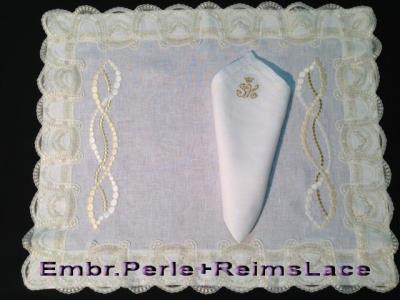 Reims e ricamo Perla